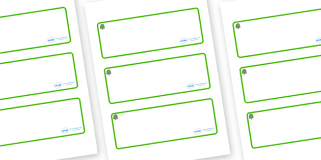 Willow Themed Editable Drawer-Peg-Name Labels (Blank) - Themed Classroom Label Templates, Resource Labels, Name Labels, Editable Labels, Drawer Labels, Coat Peg Labels, Peg Label, KS1 Labels, Foundation Labels, Foundation Stage Labels, Teaching Label