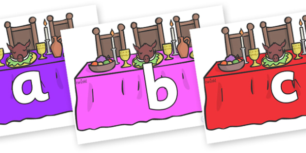 Phoneme Set on Dining Tables - Phoneme set, phonemes, phoneme, Letters and Sounds, DfES, display, Phase 1, Phase 2, Phase 3, Phase 5, Foundation, Literacy