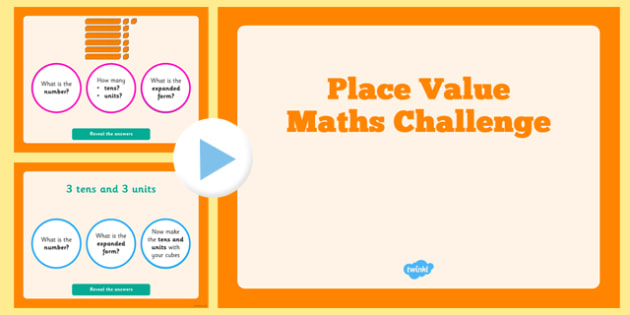 Place Value Maths Challenge PowerPoint - place, value, maths, challenge, powerpoint, tens, hundreds, numeracy, 2014