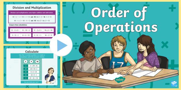Order of Operations BODMAS BIDMAS Teaching Presentation - order, operations, bodmas, bidmas, teaching, presentation