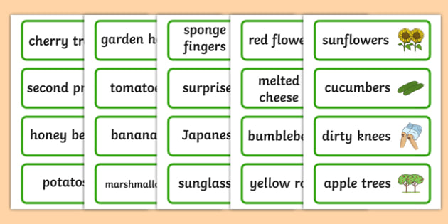 Three Syllable Final 'Z' Sound Word Cards - final z sound, words