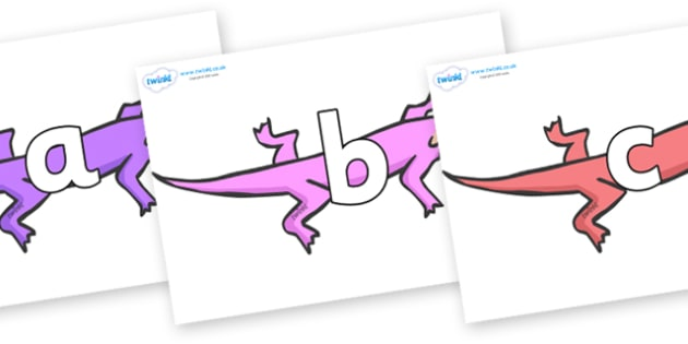 Phoneme Set on Lizards - Phoneme set, phonemes, phoneme, Letters and Sounds, DfES, display, Phase 1, Phase 2, Phase 3, Phase 5, Foundation, Literacy