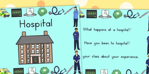People Who Help Us Hospital Video PowerPoint - doctors, videos