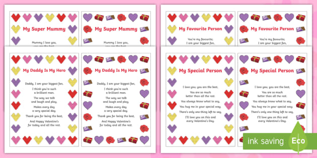 For him verses valentines 30+ Best