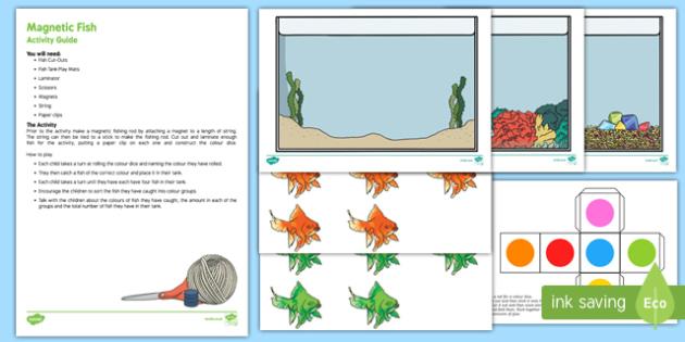 Magnetic Fish Colour Activity Pack
