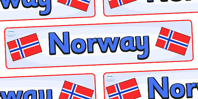 Norway Display Banner - Norway, Olympics, Olympic Games, sports, Olympic, London, 2012, display, banner, sign, poster, activity, Olympic torch, flag, countries, medal, Olympic Rings, mascots, flame, compete, events, tennis, athlete, swimming
