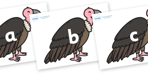 Phase 2 Phonemes on Vultures - Phonemes, phoneme, Phase 2, Phase two, Foundation, Literacy, Letters and Sounds, DfES, display
