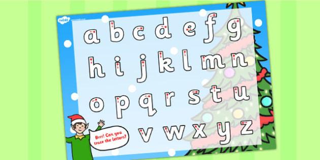 Elf Themed Letter Writing Worksheet - letter writing, elf, sheet