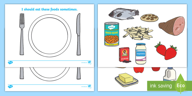 Healthy Eating Sorting Activity Teacher Made