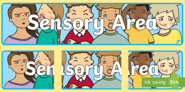 Sensory Area Display Banner -displays, banners, posters, poster