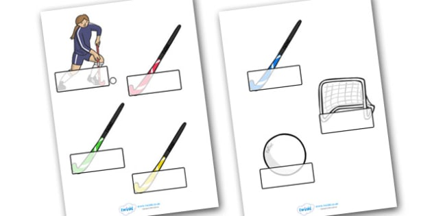 The Olympics Hockey Self Registration - Hockey, Olympics, Olympic Games, sports, Olympic, London, 2012, Self registration, register, editable, labels, registration, child name label, printable labels, activity, Olympic torch, events, flag, countries,
