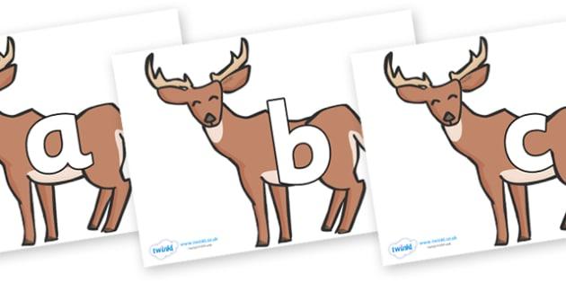 Phoneme Set on Deer - Phoneme set, phonemes, phoneme, Letters and Sounds, DfES, display, Phase 1, Phase 2, Phase 3, Phase 5, Foundation, Literacy
