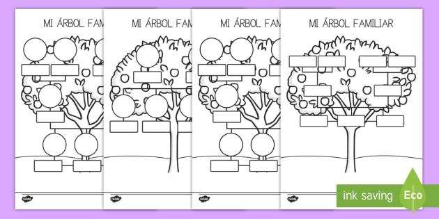 Ficha de actividad: Mi árbol genealógico - ficha, ficha de