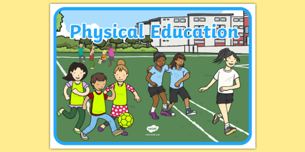 Physical Education A4 Display Poster - PE, action, actions, physical actions,display, banner, poster, sign, visual aid, Physical education, prompt, PE equipment
