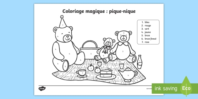 Coloriage Magique Happy New Year.New Coloriage Magique Pique Nique Coloriage Magique Pique Nique