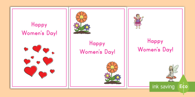 Womens Day Greeting Cards