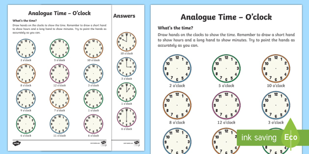 ni-n-130-ogue-timeoclock-activity-sheet_ver_3 O Clock Worksheet Ks on cut paste, reading digital, learning time, roman numeral, for class 2, filling minutes, telling time, reading analog, office hours time, blank face template, first grade,