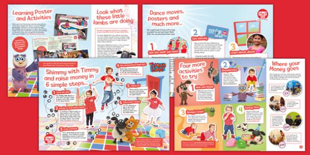 Sport Relief 2016: Nursery Activity Pack (Nursery) - sport relief 2016, activity