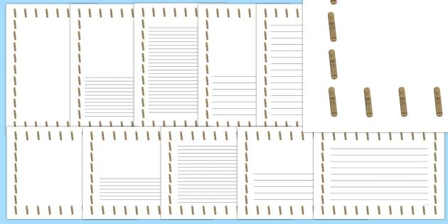 Mezuzah Page Border Pack