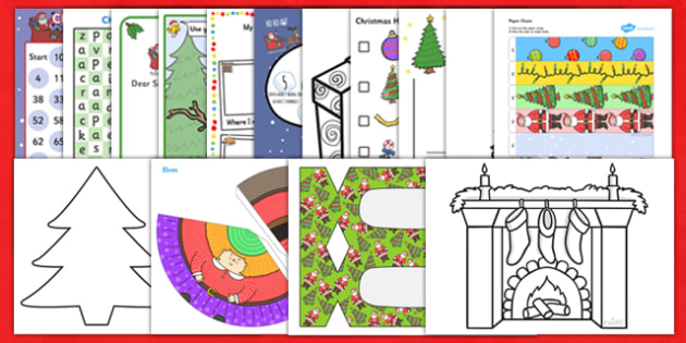 Teaching Assistant Christmas Craft and Activity Pack - ta, craft