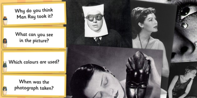 Man Ray Photopack and Prompt Questions - photopack, prompt, man
