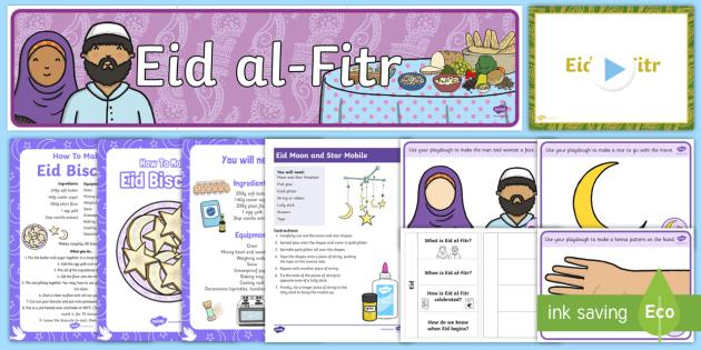 cfe early level eid alfitr resource pack teacher made