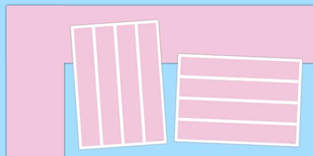 Neutral Pale Pink Display Border - pale pink, neutral, display