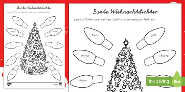 Nett Farbwort Arbeitsblatt Kindergarten Galerie - Arbeitsblätter für ...