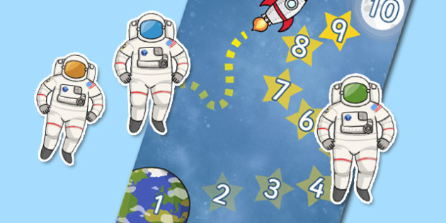 Astronaut (Space) Reward Chart - education, home school, child development, children activities, free, kids, chart for free, free charts, children chart, chore chart, printable charts, star charts