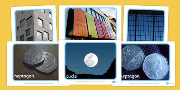 2D Shape Display Photos - 2D, shapes, photo, Display Photos, display, 2D Shape names, Shape Pictures, Shape Words