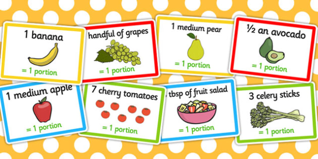 What Counts Towards My 5 a Day Challenge Cards - challenge, cards