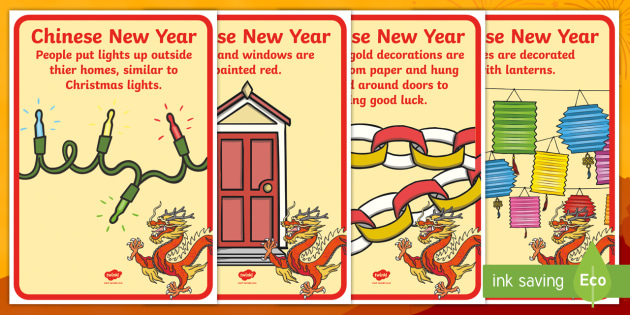 chinese new year celebration customs display posters holidays chinese new year china - Chinese New Year Customs