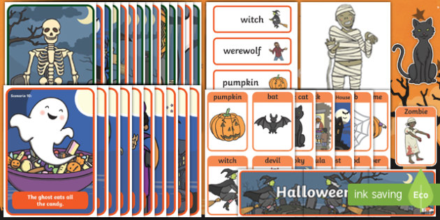 Aistear Pack Halloween Night Display Pack-Irish