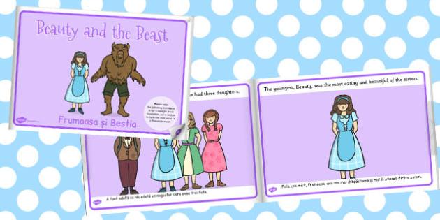 Beauty And The Beast eBook Romanian Translation - storybook