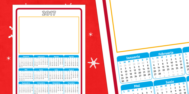 Cadou de Crăciun - Calendar 2017