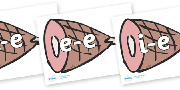 Modifying E Letters on Hams - Modifying E, letters, modify, Phase 5, Phase five, alternative spellings for phonemes, DfES letters and Sounds