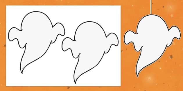 Dangly Ghost Cut-Outs