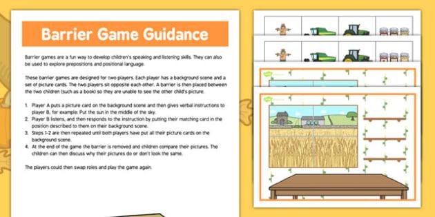Autumn Harvest Barrier Game - autumn, harvest, barrier, game, activity