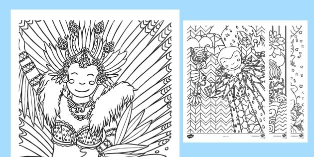 Hojas de colorear para relajarse: Carnaval - Carnaval, fiesta, celebración, desfile, colorear, Carnival, party, celebration, festival, parade, c