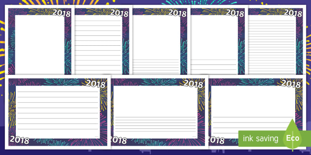 2018 page border 2018 page borders page borders new year
