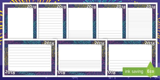 2018 page border 2018 page borders page borders new year