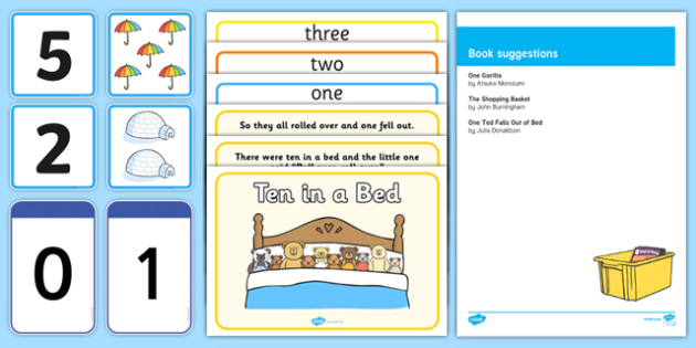 EYFS Counting 1-10 Number Sack - EYFS, count, numeracy, 1-10