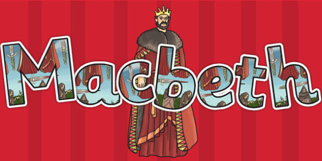 Image result for macbeth lettering poster