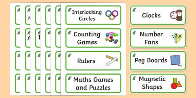 Kingfisher Themed Editable Maths Area Resource Labels - Themed maths resource labels, maths area resources, Label template, Resource Label, Name Labels, Editable Labels, Drawer Labels, KS1 Labels, Foundation Labels, Foundation Stage Labels, Teaching