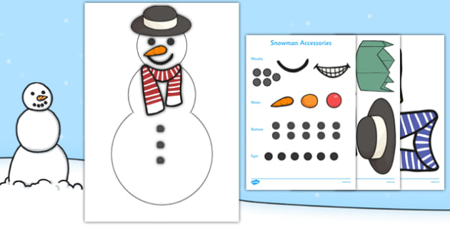 Build a Snowman Resource Pack - EYFS, Early Years, Christmas, Winter, story, PSED, Personal, Emotional, Emotional Development,  Raymond Briggs, The Snowman