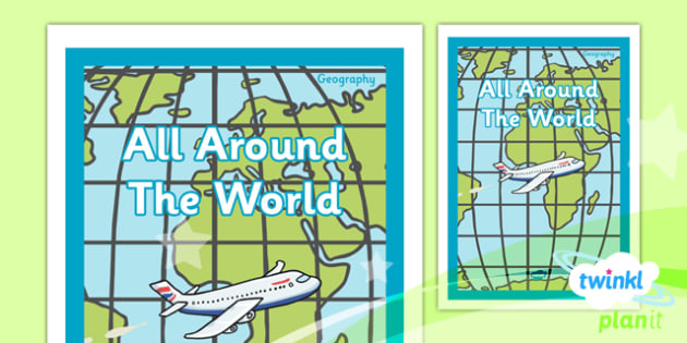 Geography: All Around the World Year 4 Unit Book Cover