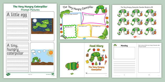 The Very Hungry Caterpillar Activity Pack Ages 3-7