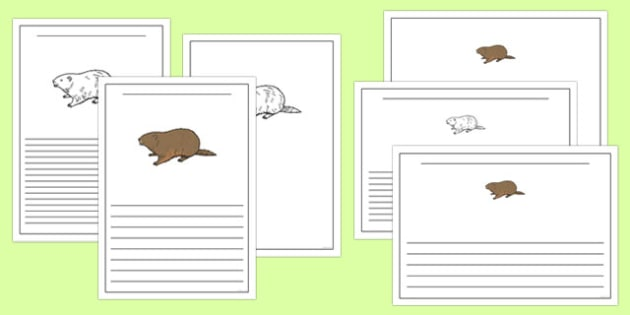 Groundhog Writing Templates - groundhog day worksheet, groundhog, writing templates