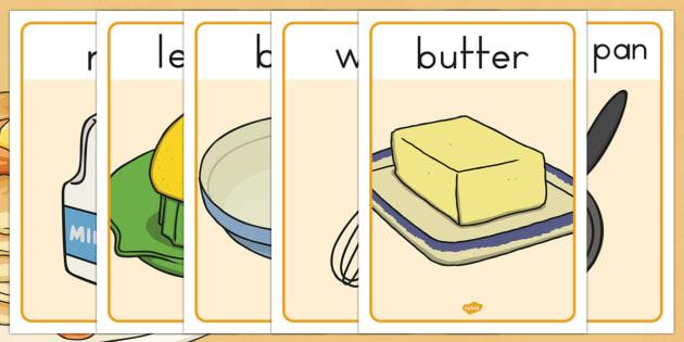 Pancake Day Recipe Posters - australia, pancake, day, recipe