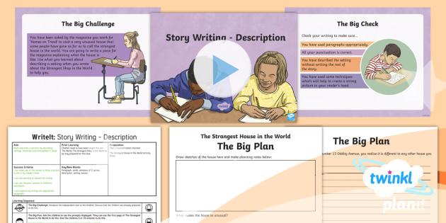 The World: The Strangest Shop in the World Y6 Writing Assessment - magazine, description, descriptive, homework, story writing, scene setting, senses, figurative langu